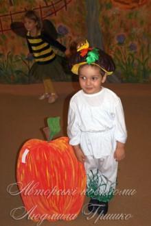 фото карнавальный костюм грибочка на праздник осени