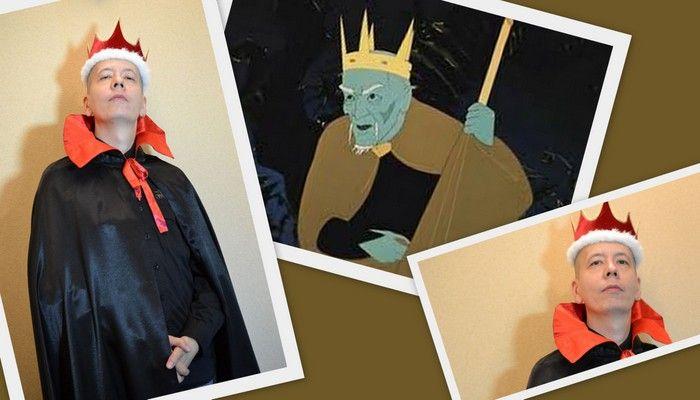 костюм кащея бессмертного фото коллаж на фоне иллюстрации