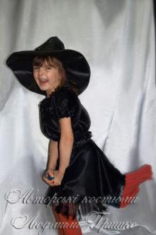 костюм колдуньи для девочки на halloween фото