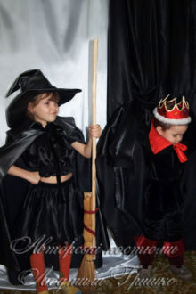 костюм колдуньи и кащея детские фото
