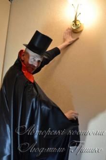 карнавальный костюм дракулы на halloween фото