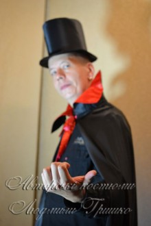 костюм дракулы в цилиндре фото