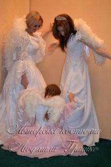 три ангела фото маскарадных костюмов