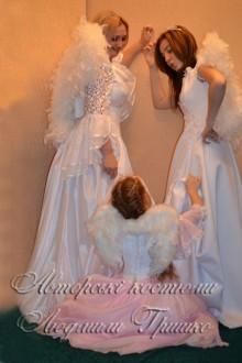 три ангела фото авторских карнавальных костюмов на halloween