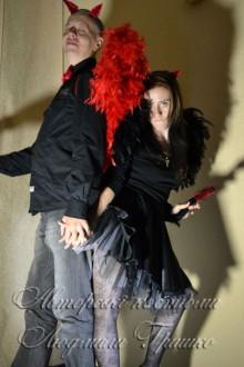 костюмы демонов для мужчины и женщины фото