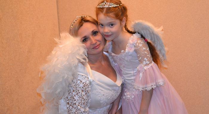 костюм ангела для девочки и женщины фото