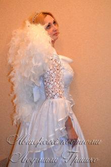 костюм ангела фото вид сбоку