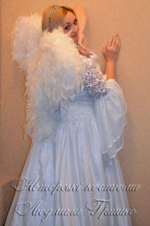 костюм ангела женский в белом фото