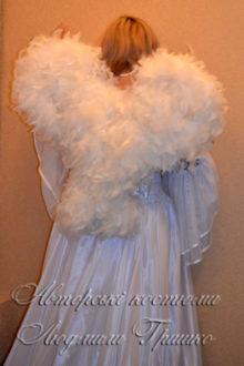 костюм ангела фото крыльев