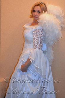 взрослый карнавальный костюм ангела для женщины фото
