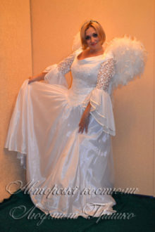 новогодний костюм ангела для женщин фото