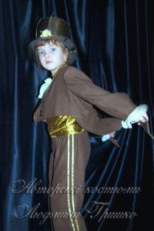 костюм кузнечика фото во фраке вид сбоку