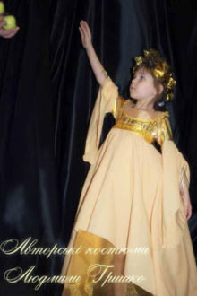 авторский карнавальный наряд фото костюм Осень