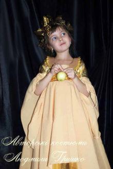 костюм осень фото в платье с длинным рукавом