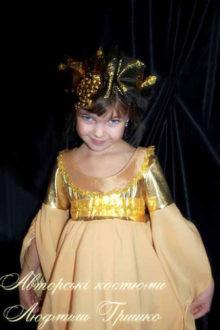 фото костюм осень для девочки