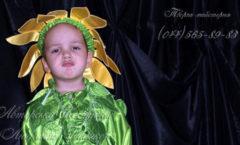 костюм подсолнуха для мальчика карнавальный