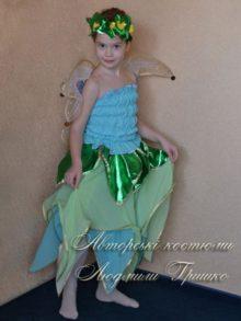 костюм цветочная фея новогодний фото