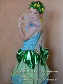 костюм цветочная фея с крыльями фото