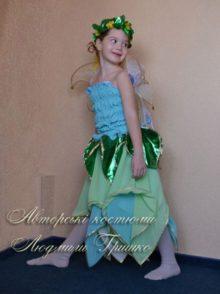 костюм цветочная фея из шифона фото