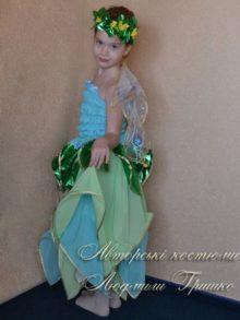 костюм цветочная фея карнавальный детский фото