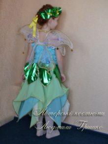 костюм цветочная фея фото вид сзади
