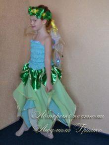 костюм цветочная фея в венке фото