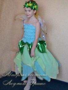детский костюм цветочная фея фото