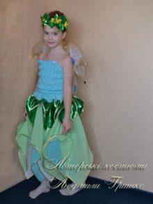 авторский костюм цветочная фея на halloween фото