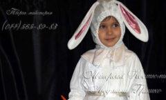 костюм зайчихи для девочки карнавальный фото