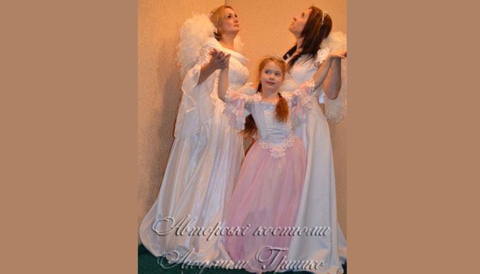 костюмы ангелов карнавальные фото
