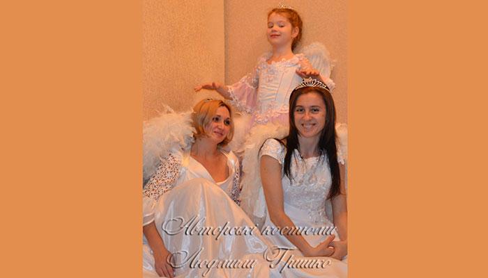 костюмы ангелов взрослые и детские фото