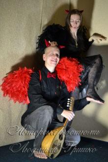 карнавальные костюмы демонов фото он и она