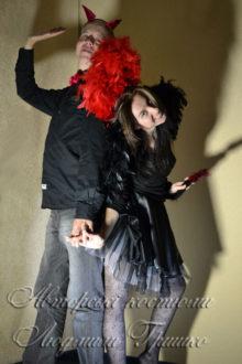 костюмы демонов с крыльями фото