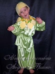 костюм лимона для мальчика фото