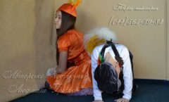 Ёжик и Белка -авторские карнавальные костюмы от дизайнера Людмилы Гришко на Прокат в Киеве (044) 565-89-83
