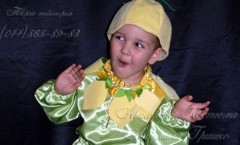 Костюм Лимона и другие авторские костюмы на праздник Осени от дизайнера Людмилы Гришко на Прокат в Киеве (044) 565=89-83