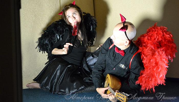 костюмы падших ангелов на halloween фото