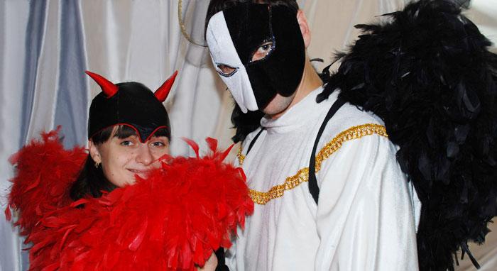 падшие ангелы карнавальные костюмы на halloween