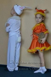 белочка и зайчик фото авторских костюмов