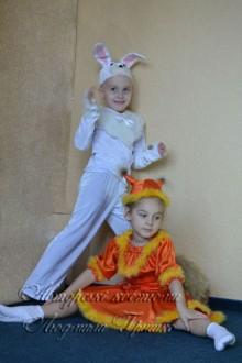 белочка и зайчик фото костюмов на новый год
