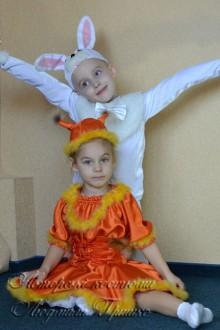 белочка и зайчик фото карнавальных костюмов