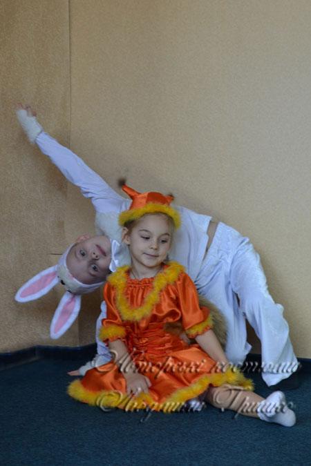 белочка и зайчик фото маскарадных костюмов