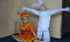 белочка и зайчик фото детских карнавальных костюмов