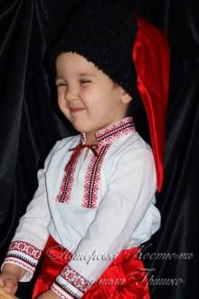 украинский костюм для мальчика фото