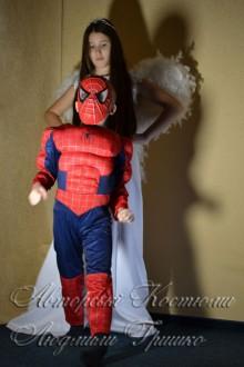 ангел и спайдермен маскарадные костюмы фото