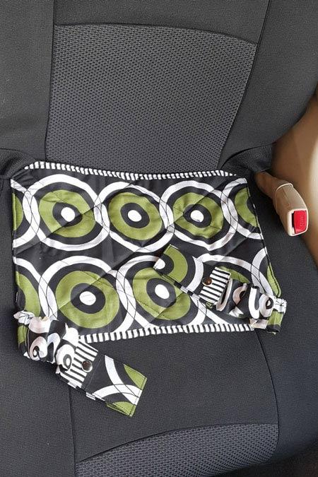 ремень для беременных_2 фото в машине