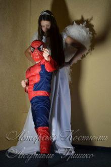 ангел и спайдермен детские костюмы фото