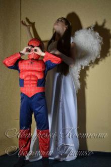 ангел и спайдермен для девочки и мальчика фото