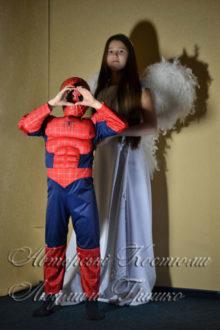 ангел и спайдермен костюмы детские фото