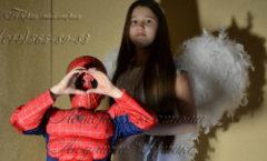 Ангел и Спайдермен на Halloween и другие авторские костюмы от дизайнера Людмилы Гришко на Прокат в Киеве (044) 565-89-83